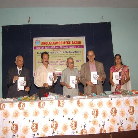 Late Shri Balchandji Lohia Memorial Lecture